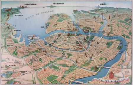 Plan de Petrograd
