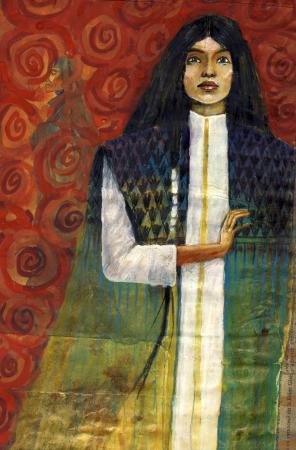 Grand portrait de Oonaa